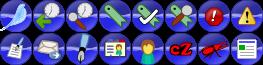 Návrhy ikon oken pro SeaMonkey 2.0